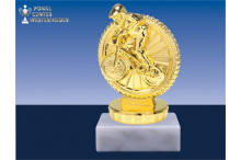 BMX Figuren in gold