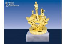 Schachfiguren in gold-BP031
