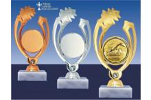 Schwimmfiguren GLOSSY gold-silber-bronze