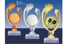 Tischtennisfigur GLOSSY gold-sibler-bronze
