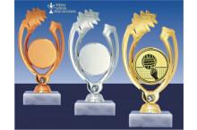 Volleyballfiguren GLOSSY in gold-silber-bronze