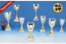 Cup Pokale mit Emblemkranz 6067-61130 Skatpokale