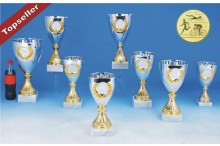 Cup Pokale mit Emblemkranz 6067-61298 Triathlonpokale