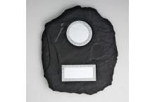 Schieferlook-Wandplaketten-Relief für 50mm Embleme