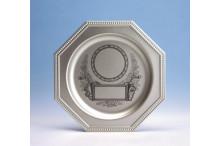 günstiger Ehrenteller aus Metall incl. Gravur Emblem