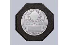 Schieferlook-Wandehrenpreis-Relief für 50mm Embleme