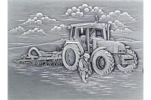 """""""Bildrelief moderne Landwirtschaft Geschenke mit Gravur"""""""