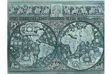"""""""Antikes Weltkarten-Relief als Gravur-Geschenk"""""""