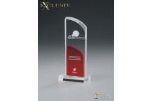 Acrylglas Award AZ-74010 red