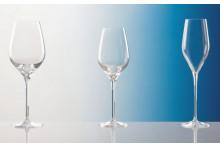 Rotweinglas mit Lasergravur