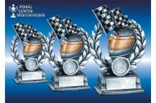 Ralley-Motorsport Resinfiguren Racing