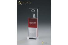 Acryl Award AZ-74014 Modern Step red
