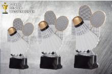 Badminton Trophäen Serie in 3 Größen ST39154-56