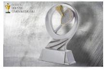 Badminton Pokal-Trophäe Resin ST39281