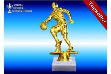 Basketballspielerfigur in goldglanz 38053