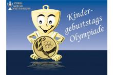 Kindergeburtstagsmedaillen - Pokal - Olymp-Fackel