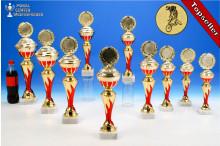 BMX-Rad-Pokalserie in 10 Größen mit Flammendekor