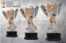 Bodybuilding Figuren-Trophäen in 3er Serie ST39160-62