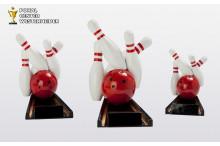 Bowlingtrophäen in 3 Größen ST39495