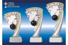 Bowling Pokal-Trophäen in 3 Größen RC806