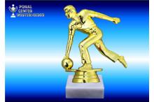 Bowlingfiguren Herren in gold