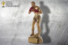 Boxsport Pokal- Trophäen ST39287 silber-gold-rot