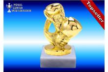 Boxsport-Trophäe goldglanz