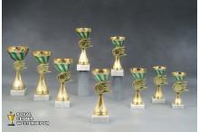 Cup Pokale 7048 grün-gold