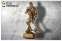 Eishockey Figuren Trophäen ST39289 silber-gold