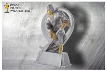 Eishockey Trophäen ST39290 silber-gold