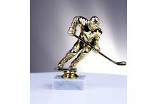Eishockeyfiguren-Trophäen in gold