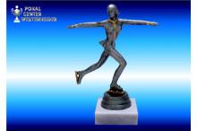Eiskunstlauf Trophäen silber-antik weiblich