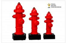 Feuerwehr-Trophäen Hydrant 39671
