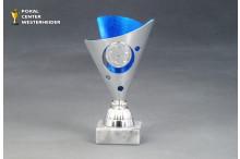 Mini-Cup Fussball Trophäen BP250.04blau-silber