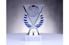 Fussballfiguren ''Ballrelief blau-silber'' BP151-04