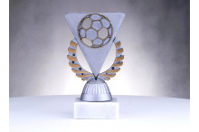 Fussballfiguren ''Ballrelief antiksilber-gold'' BP151-22