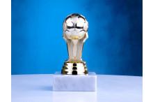 Fußballfiguren in gold ST-34186