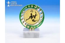 günstige Fussball-Trophäen O-163412 grün-gold