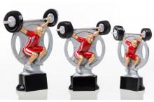 Gewichtheber Pokal -Trophäen ST39178-80