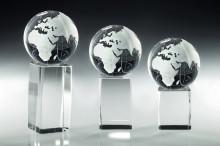 Briefbeschwerer Glas Weltkugel ST67792-94
