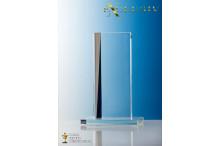 Glastrophäen Exklusiv mirror stripe AR-N939