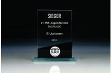Glastrophäen Sonderanfertigung ''black block'' ST35771-V black