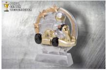 Kart Figur silber-gold ST39342
