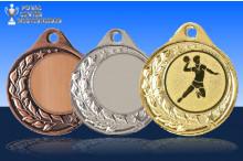 Handballmedaillen Halbranke ST9283-60343