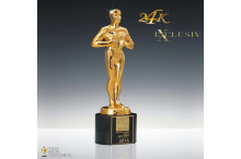 Hollywood Award Exklusiv 24k vergoldet AZ-78830