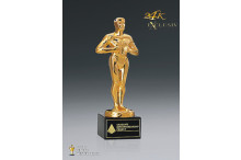 Hollywood Award Standard 24k vergoldet AZ-78831