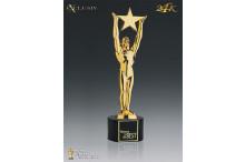 Hollywood Award Star Exklusiv 24k vergoldet AZ-78810