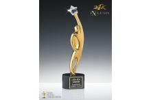 Hollywood Award Triumph 24k vergoldet AZ-78870