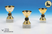 günstige Inlineskating Cup-Pokalserie in gold