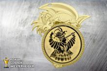 Karneval Orden in gold BD60-60512 Karnevalsprinz